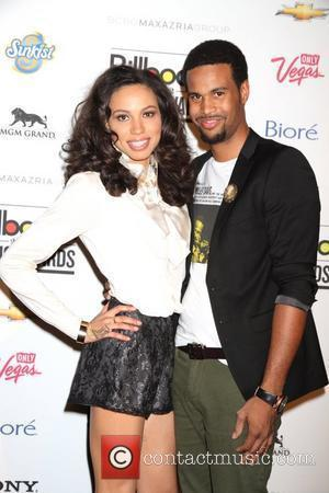 Jurnee Smollett, Josiah Bell Official Pre Billboard Music Awards Party 2012 held at the Marquee Ballroom at the MGM Grand...