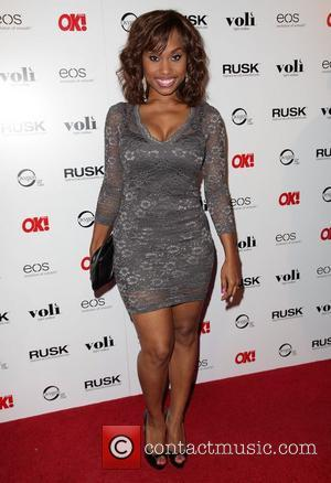 Angell Conwell OK! Magazine's Sexy Singles Party - Arrivals at The Roxbury  Los Angeles, California - 07.06.12