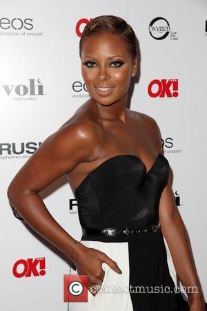 Eva Marcille OK! Magazine's Sexy Singles Party - Arrivals at The Roxbury  Los Angeles, California - 07.06.12