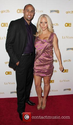 Hank Baskett and Kendra Wilkinson OK! Magazine's Pre-Grammy Event at Tru Hollywood  Hollywood, California - 10.02.12