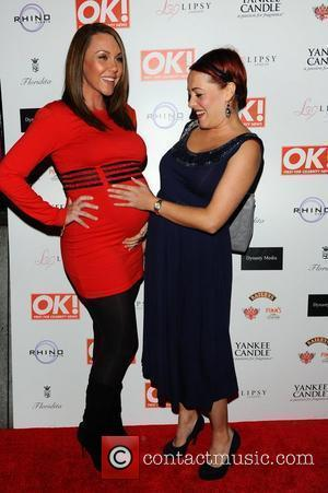 Michelle Heaton and Sarah Cawood