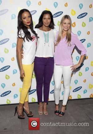 Selita Ebanks, Padma Lakshima, Katrina Bowden Old Navy Rockstar Fashion Show at Bryant Park  New York City, USA -...