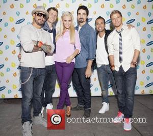 Backstreet Boys, Jenny McCarthy and Bryant Park