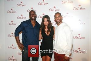Terry Crews, Chrissy Teigen, and Victor Cruz  The Old Spice Unveiling of their 'Champion' and 'Danger Zone!' Products at...