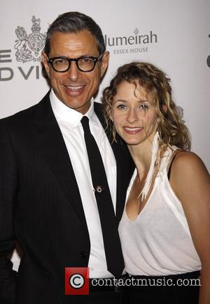 Emilie Livingston and Jeff Goldblum  The Old Vic Theatre Company Benefit held at Gotham Hall - Arrivals.  New...