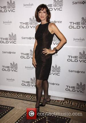 Hadyn Gwynne  The Old Vic Theatre Company Benefit held at Gotham Hall - Arrivals.  New York City, USA...