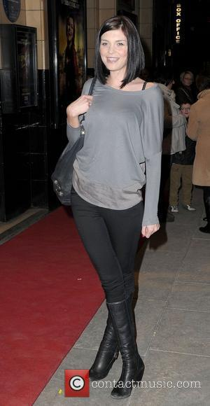Sinead Moynihan,  at the Palace Theatre Manchester for the press night of 'Oliver!' Manchester, England - 01.02.12