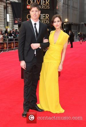 Katherine Kelly and guest The Olivier Awards 2012 held at the Royal Opera House- Arrivals London, England - 15.04.12