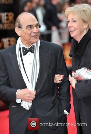 David Suchet and Sheila Ferris The Olivier Awards 2012 held at the Royal Opera House - Arrivals  London, England...