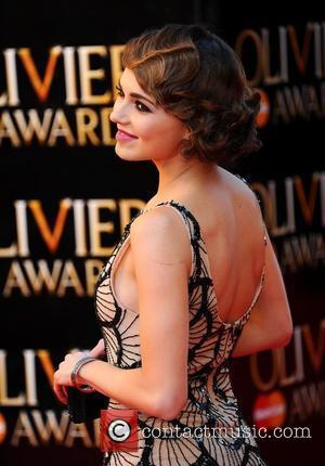 Kara Tointon The Olivier Awards 2012 held at the Royal Opera House- Arrivals  London, England - 15.04.12