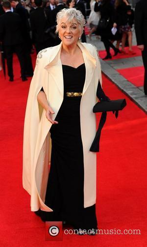 Tyne Daly The Olivier Awards 2012 held at the Royal Opera House- Arrivals  London, England - 15.04.12