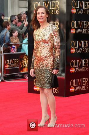 Laurie Metcalf The Olivier Awards 2012 held at the Royal Opera House- Arrivals London, England - 15.04.12