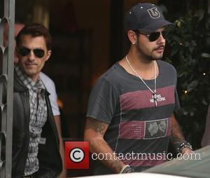 Olivier Martinez, Eduardo Cruz, Cecconi's Restaurant and West Hollywood