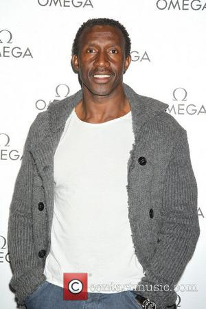 Linford Christie Omega store launch party at Westfield London, England - 08.12.11