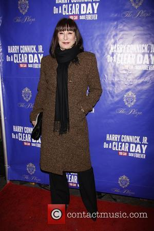 Anjelica Huston  Opening night of the Broadway musical production of 'On A Clear Day You Can See Forever' at...
