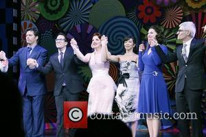 Harry Connick, Jr., Michael Mayer, Jessie Mueller, JoAnn M. Hunter, Kerry O'Malley and Peter Parnell  Opening night of the...