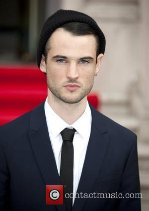Tom Sturridge UK premiere of 'On The Road' at Somerset House - Arrivals 16.08.12 - London, England - 16.08.12