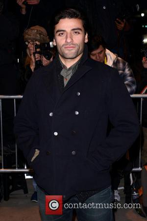 Oscar Isaac New York premiere of 'On The Road' presented by Grey Goose Vodka at The School of Visual Arts-...