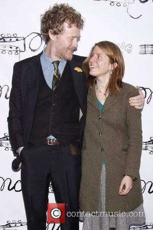 Glen Hansard and Marketa Irglova  Broadway opening night of the musical 'Once' at the Bernard B. Jacobs Theatre -...