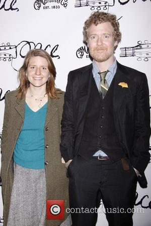 Marketa Irglova and Glen Hansard  Broadway opening night after party for the musical 'Once', held at Gotham Hall....