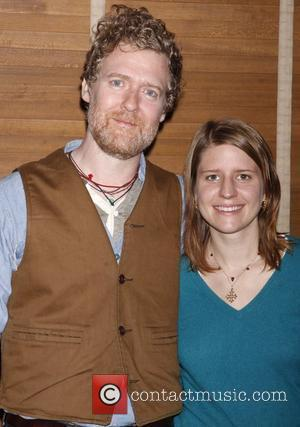 Glen Hansard and Marketa Irglova Meet and Greet with the cast and creative team of the Broadway musical 'Once' held...