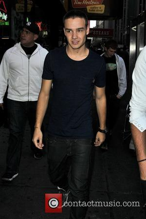 Liam Payne and Times Square