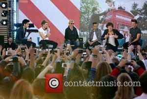 Niall Horan, Zayn Malik, Louis Tomlinson, Harry Styles and Liam Payne