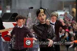 One Direction and Rockefeller Plaza