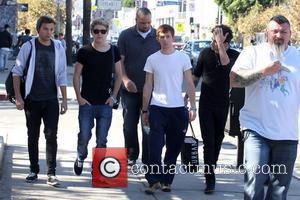 Liam Payne, Niall Horan and Zayn Malik