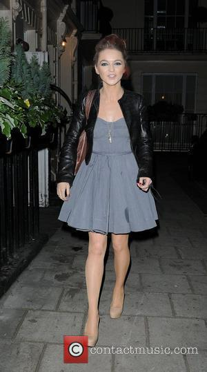 Hannah Spearritt at the press night of 'One Man, Two Guvnors' held at Theatre Royal Haymarket. London, England - 13.03.12