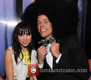 Carly Rae Jepsen and Perez Hilton  'One Night In Toronto' fundraiser presented by Perez Hilton at Club XS. Toronto,...