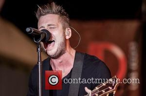Ryan Tedder of One Republic performs live at The D Hotel and Casino on Fremont Street Las Vegas, Nevada -...