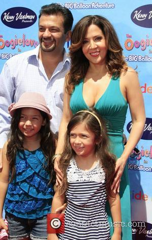 Maria Canals-Barrera and Family The Premiere of 'The Oogieloves in the Big Balloon Adventure' held at Grauman's Chinese Theatre...