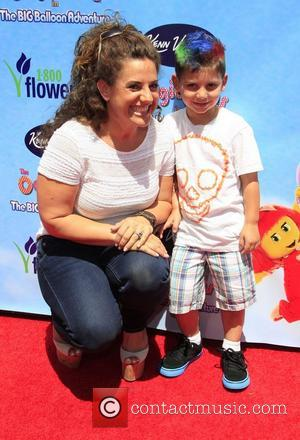 Marissa Jaret Winokur and son Zev  The Premiere of 'The Oogieloves in the Big Balloon Adventure' held at Grauman's...