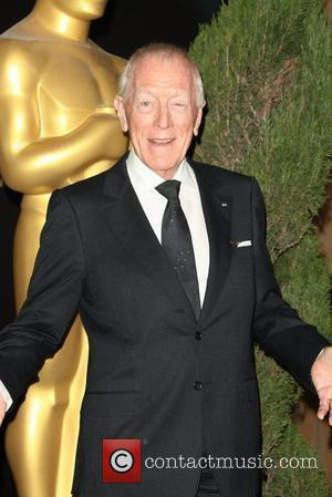 Max von Sydow 84th Academy Awards Nominations Luncheon held at the Beverly Hilton Hotel Los Angeles, California - 06.02.12