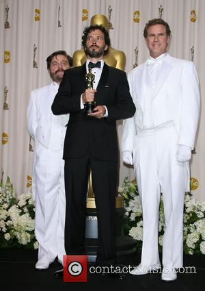 Zach Galifianakis, Brett McKenzie and Will Ferrell  84th Annual Academy Awards (Oscars) held at the Kodak Theatre - Press...