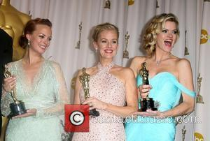 Berenice Bejo, Penelope Ann Miller and Missi Pyle  84th Annual Academy Awards (Oscars) held at the Kodak Theatre -...