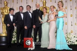 Thomas Langmann, Berenice Bejo, James Cromwell, Jean Dujardin, Michel Hazanavicius, Missi Pyle, Penelope Ann Miller and Academy Awards