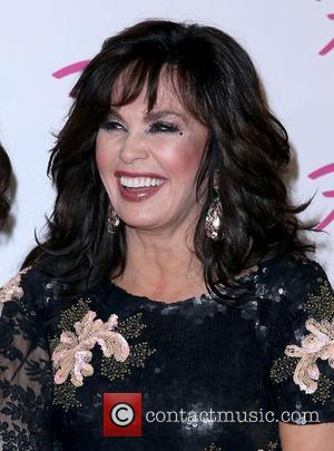 Marie Osmond Susan Boyle makes a guest appearance at the the Donny & Marie Show at The Flamingo Hotel and...