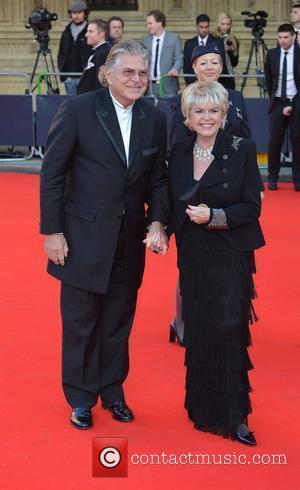 Gloria Hunniford and guest 'Our Great Team Rises' held at the Royal Albert Hall - Arrivals London, England - 11.05.12