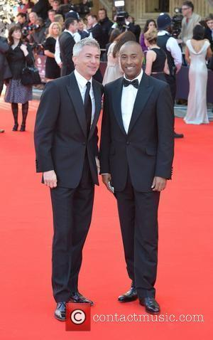 Jonathan Edwards and Colin Jackson 'Our Great Team Rises' held at the Royal Albert Hall - Arrivals London, England -...