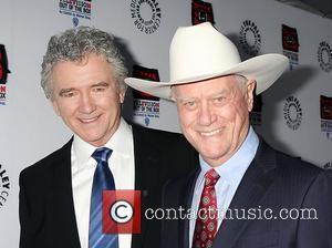 Patrick Duffy, Larry Hagman and Paley Center for Media