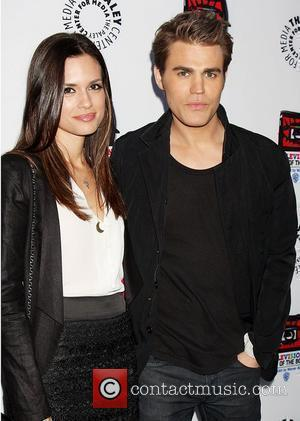 Torrey DeVitto, Paul Wesley and Paley Center for Media