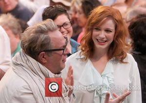 Brian Dannelly and Christina Hendricks