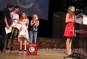 Matt Prokop, Robbie Amell, Allie Grant, Angela Kinsey, Sarah Hyland Closing Night Gala 2012 Outfest Ceremony & Show held at...