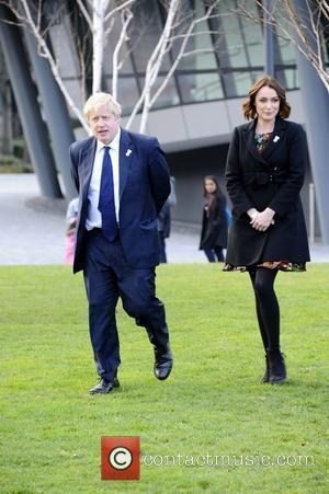 Boris Johnson and Keeley Hawes