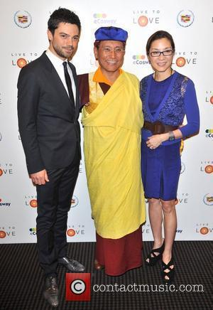 Dominic Cooper, Gyalwang Drukpa, Michelle Yeoh Pad Yatra: A Green Odyssey - gala screening held at BAFTA Piccadilly. London, England...