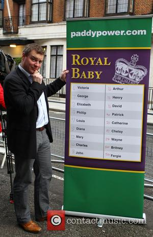 A, Paddy Power, Prince William, Duke, Cambridge, Catherine, Duchess, King Edward, Hospital and Central London