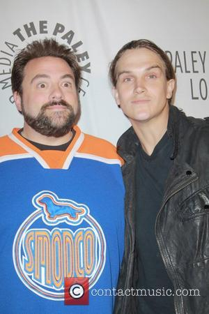 Kevin Smith, Jason Mewes The Paley Center for Media's Annual Los Angeles Benefit at The Rooftop of The Lot West...