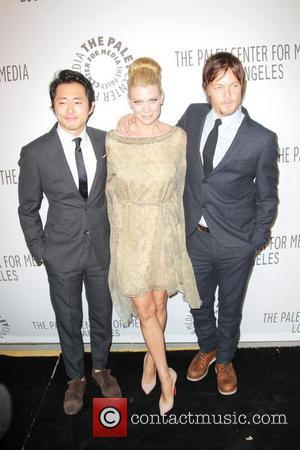 Steven Yeun, Lauren Cohan, Norman Reedus and Paley Center For Media